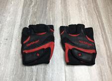 Harbinger FlexFit Weight Lifting Gloves Black Red Strength Training