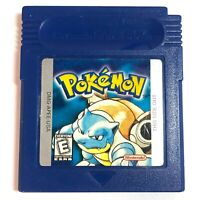 GUARANTEED AUTHENTIC Pokemon Blue Version for Gameboy CLEANED, TESTED, NEW SAVE