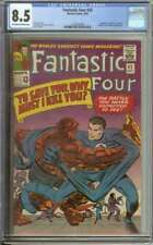 FANTASTIC FOUR #42 CGC 8.5 OW/WH PAGES