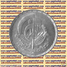 """1993 Egypt Egipto مصر Ägypten Silver Coin """"20 year of October War"""",5 P,#KM812"""