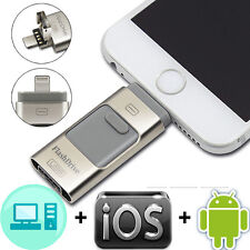 256GB USB Flash Drive Disk OTG Memory Stick For iPhone 8 7 7s 6 6s 5 5s+ Android