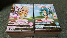Super Sonico x Hatsune Miku- Good Smile Racing- Figure Set- Banpresto- New