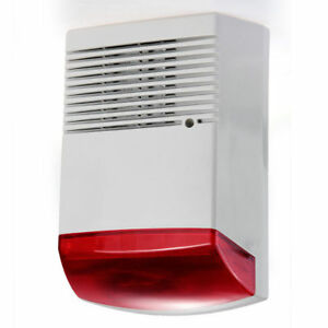Wired Siren For Burglar Alarm With Battery Back Up.Professional Quality.120db