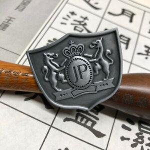 1Pcs JDM JP Badge Matte Silver Totem Emblem For Rearview Mirror Fusa Kiku Knot