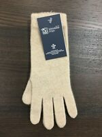 Women's Long Cashmere Gloves | Johnstons of Elgin | Made in Scotland | Cream