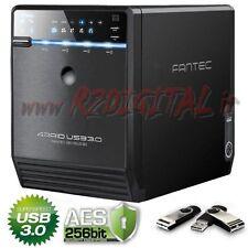 BOX FANTEC QB-35US3R 4 HARD DISK USB 3.0 eSATA RAID PROTEZIONE DATI NAS SERVER