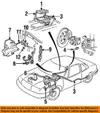 GM OEM Anti-Lock Brakes ABS-Control Module 16159331