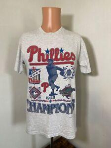 VTG 93 Philadelphia Phillies men's National League Champs t-shirt M Made in USA