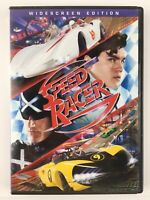 Speed Racer DVD 2008 Widescreen Wachowski Brothers