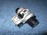 2003 HOT WHEELS FATBAX #8 SILVER SHELBY COBRA 427 S/C DIECAST CAR - NICE