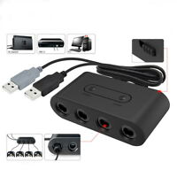 4-Port GC Gamecube Controller to USB Adapter For   Wii U PC NGC ZY
