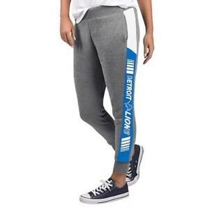 NFL Detroit Lions Officially Licensed Women's Fleece Tailgate Pants G-III