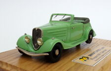 Heco Models 1/43 Scale 206 - 1935 Peugeot 601 Eclipse Cabriolet - Green
