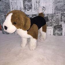 "Douglas Dog Plush Brown White Black Stuffed Puppy Beagle Toys 21"" Posable"