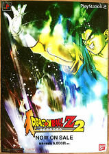 DRAGONBALL Z BUDOKAI 2 RARO SONY PS2 0,5 cm x 73 cm giapponese PROMO poster # 4