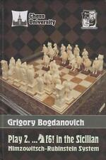 Chess University. Play 2...Nf6! in the Sicilian. By Grigory Bogdanovich NEW BOOK