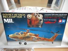 Modelkit Tamiya Soviet Attack Helicopter MIL on 1:72 in Box