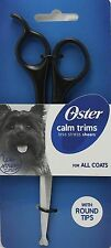 Oster Calm Trims Less Stress Shears / Scissors - For ALL COATS