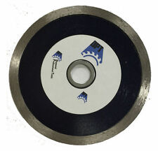 """5 Pack 4.5"""" Diamond Saw Blade Continuous Rim for Cutting Tile, Stone,Porcelain"""