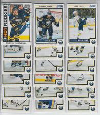 12/13 Score Buffalo Sabres Team Set w/ RC + Inserts - Vanek Miller Turnbull RC +