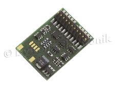 Lenz 10322-01 DCC Digital Decoder Silver PluX22 Nem 658 New