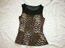 Tempted Animal Print Stretch Top - Jr. L