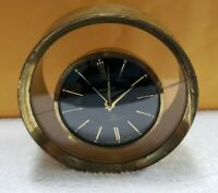Vintage Endurance 8 Brass Clock Swiss Made 7 Jewels (Pre-Owned)