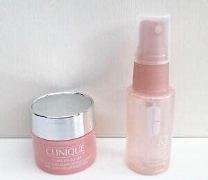 CLINIQUE Moisture Surge 72-Hour Auto-Replenishing Hydrator + Face Spray Set, NEW