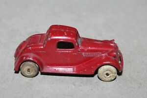NICE TOOTSIETOY #112 RED FORD COUPE Issued 1935