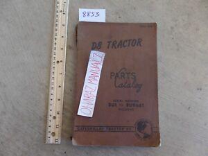CATERPILLAR D8 Tractor 2U1-2U9661 Parts Book Manual Dec 1955