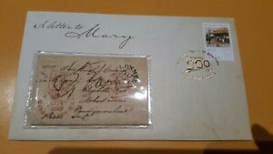 """2009 Australia Post 200 Years """"""""A Letter To Mary"""""""" Prestige FDC 00095/15000."""