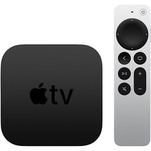 Apple TV 4K UHD 2021 Edition, 2nd Gen. 64GB HDR Digital Media Streamer MXH02LL/A