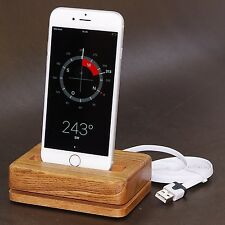 DESIGN Docking Station Classic Eschenholz Ladestation Tischlader iPhone 6s Plus