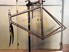 Davidson Bicycles Hand Made Titanium Frame Set, TIME Carbon Fork, Chris King