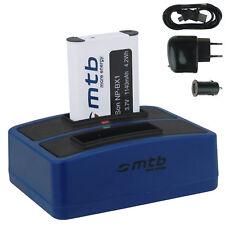 Baterìa + Cargador doble (USB) NP-BX1 para Sony Action Cam HDR-AS30(V)