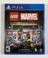 Lego Marvel Collection PS4 (Sony PlayStation 4, 2019) Brand New - Fast Shipping