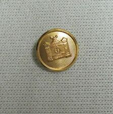 Brooks Brothers **Gold tone Cuff/Sleeve Replacement button for Blazer SportCoat