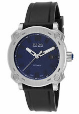 Swiss Made Accu-Swiss by Bulova 63B190 Percheron Automatic Blue Dial Men's Watch