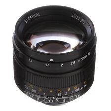 7artisans 50mm F/1.1 Manual Focus MF Lens APS-C For Leica M Mount M3 M6 M9 M240