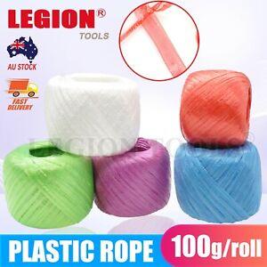 Plastic Rope Polypropylene Shop Twine Balls Craft String MIX Colours 30mm 100m
