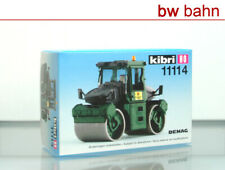 Kibri H0 11114 Bausatz DEMAG Straßenwalze grün NEU