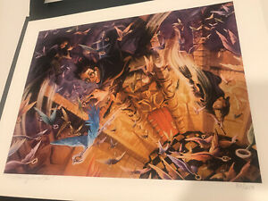 """Mary Grandpre Harry Potter LE - """"The Seven Images of Harry Potter"""" Numbered Set"""