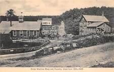STAFFORD, CT ~ MACHINE SHOP & FOUNDRY, FACTORY ~ F. A. LASBURY, PUB. ~ c. 1920s