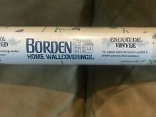 Borden Home Wall covering, Vinyl coated, 32.8' x 20.3