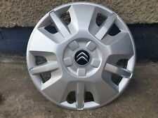 "Original Single Citroen Relay Van 15"" Wheel Trim Radkappe x1"