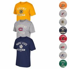 "NHL Reebok ""Historic Arch"" Print Distressed Print Team Graphic T-Shirt Men's"