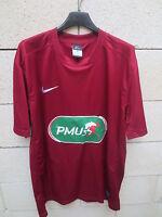 Maillot COUPE de FRANCE porté n°16 NIKE football shirt collection bordeaux PMU L
