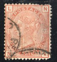 GREAT BRITAIN Sc #87 Plate 13 Used