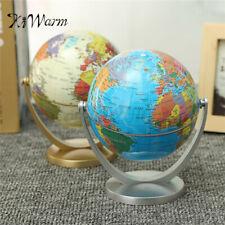 Earth Globe World Map Rotating Classroom Geography Kids Education Desktop