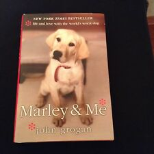 Marley and Me by John Grogan - 2005 First Edition - HBDJ